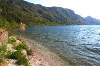 Bild 11: Ferienhaus Giorgia in Vesta am Lago di Idro mit eingezäunten Garten